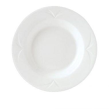 "Steelite® Bianco Rim Soup Bowl, 8.75"" - RFS066/9102C410"