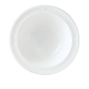 """Steelite® Bianco Rimmed Fruit Bowl, White, 5.25"""" (3DZ) - RFS066/9102C429"""