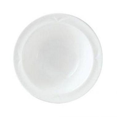 """Steelite® Bianco Rimmed Fruit Bowl, White, 6.5"""" (3DZ) - RFS066/9102C430"""