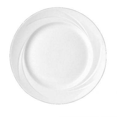 "Steelite® Alvo Plate, White, 9"" (2DZ) - RFS066/9300C503"