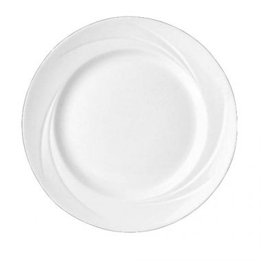"Steelite® Alvo Plate, White, 6.5"" (3DZ) - RFS066/9300C505"