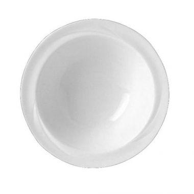 """Steelite® Alvo Rimmed Fruit Bowl, White, 5.25"""" (3DZ) - RFS066/9300C529"""