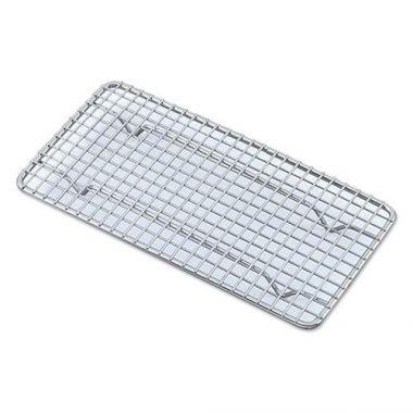 "Browne® Footed Pan Grate, 1/2 Size, 5"" x 10"" - RFS016/PG510"