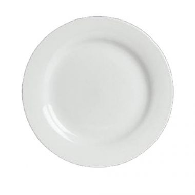 "Steelite® Concerto Buffet Plate, White, 9.5"" (2DZ) - RFS066/6306P703"