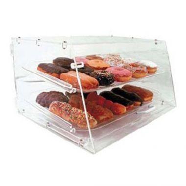 Johnson-Rose® Acrylic Pastry Display Case, 2 Trays- RFS100/APB-2112FD