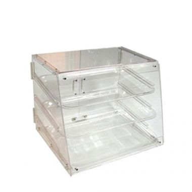 Johnson-Rose® Acrylic Pastry Display Case, 3 Trays- RFS100/APB-2117