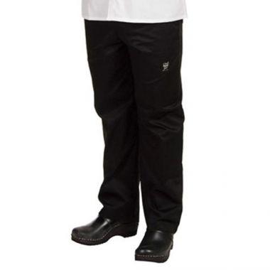 Chef Revival® Chef Pants, Black, Medium - RFS1485/P020BK-M