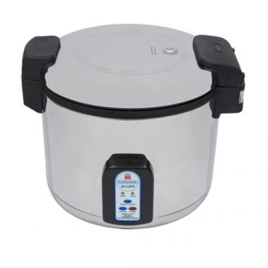 Chefmate® by Globe Rice Cooker/Warmer, 25 Cup - RFS817/RC1(BP)