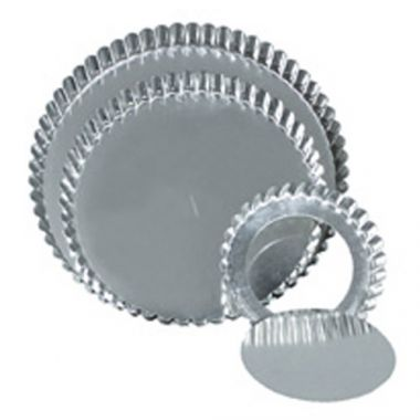"Browne® Low Rim Quiche Pan w/Removable Bottom, 10"" - RFS016/80126432"