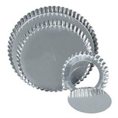 "Browne® Low Rim Quiche Pan w/Removable Bottom, 11"" - RFS016/80126440"