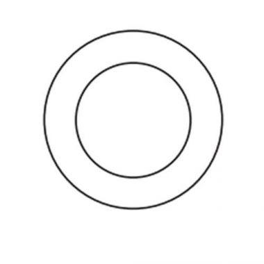 """Mistral® Plate, White, 7"""" (12EA) - RFS570/10304-02"""