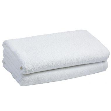 Adonis Full Terry Ring Spun Cotton Bath Towels 22x44 wt. 6.0 lbs/dz. White 6/Pack