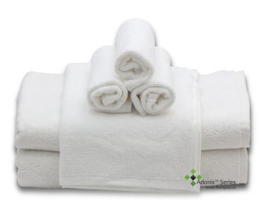 Adonis™ Standard Full Terry Ring Spun 100% Cotton Hospitality Bath Towels