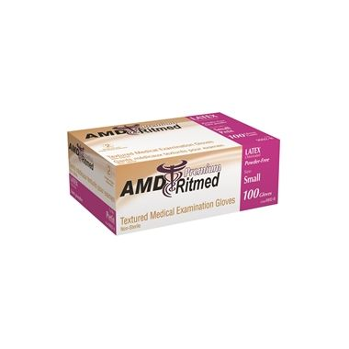 Latex Exam Gloves Powder Free  Extra Large 100/box