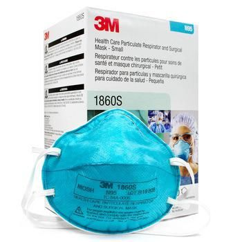 3M Health Care Particulate Respirator and Surgical Mask 1860S - Box of 20