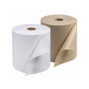 "Prime Source Hardwound Hand Towel Roll, White, 8"" x 350' 12rolls/case"