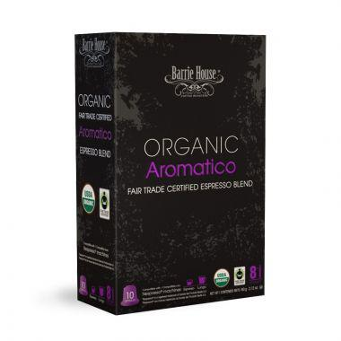 Barrie House Organic Aromatico Nespresso Compatible Capsules. Pack 10 EDCBHARO
