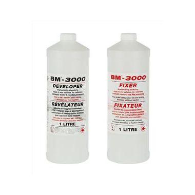 BM-3000 PRO Fixer & Developer Solution 3 x 1L of each/case