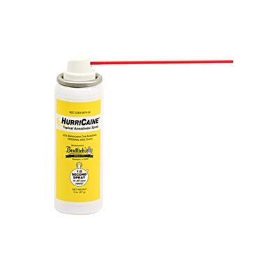 Beutlich Hurricaine Topical Anasethetic Spray 2oz Cherry