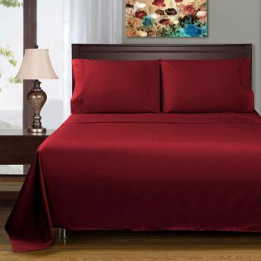 Endurance™ Canada T180 Pillowcase 55/45 Cotton/ Polyester Burgundy