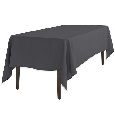LinenPlus® Endurance™ Revolutionary,Tablecloths ,Charcoal (6081)