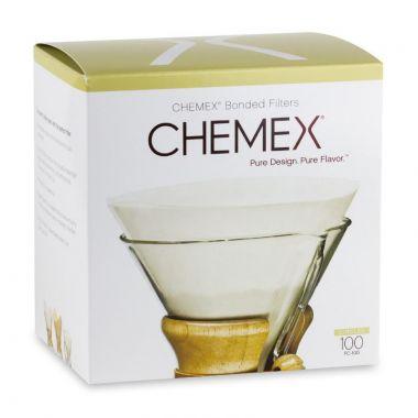 CHEMEX-COFFEE FILTER PREFOLDED CIRCLE 100/BOX-FC100:24EDCHEMFILCIRCLE