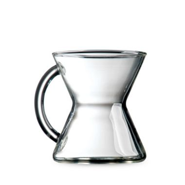 CHEMEX-HANDBLOWN GLASS COFFEE MUGS #CCM-1EDCHEMHANGLACOF