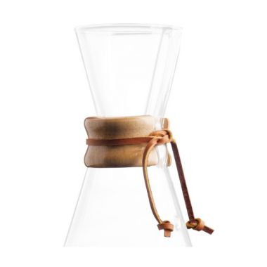 CHEMEX-WOOD COLLAR AND TIE for WATER KETTLE #CMH-0EDCHEMWOOCOLCMH0