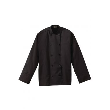 Casual 10-Button Midweight Chef Coat