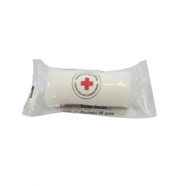 "1"" NON STERILE ROLLER GAUZE - BAG OF 10 (CRC-1RGB) (First Aid)"