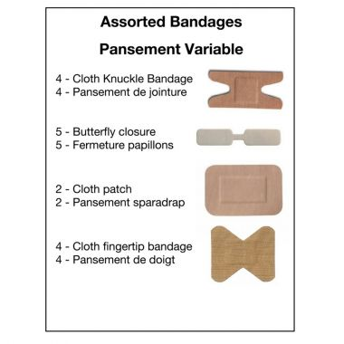ASSORTED BANDAGES