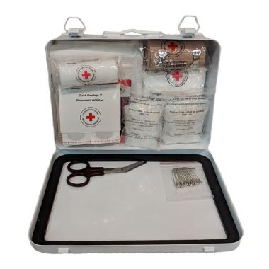 ALBERTA LEVEL 1 FIRST AID KIT IN METAL BOX