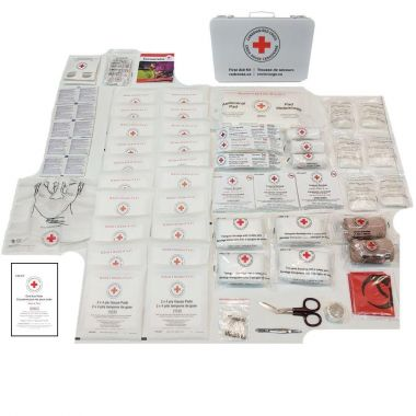 ALBERTA LEVEL 2 FIRST AID KIT METAL BOX