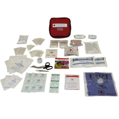 CANADIAN RED CROSS AUTO FIRST AID KIT