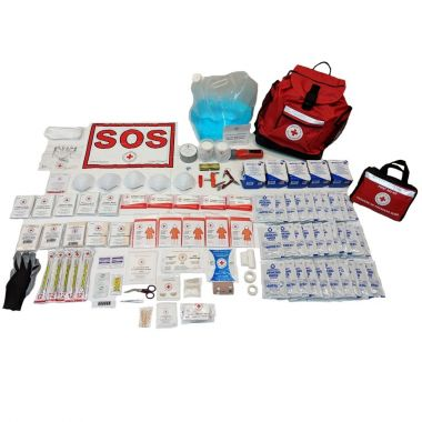 5 PERSON 72 HOUR - CRC BASIC PREPAREDNESS KIT with Water Rations