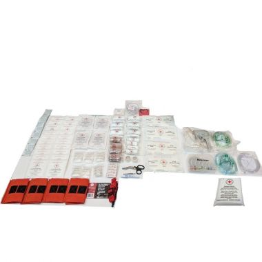 BRITISH COLUMBIA LEVEL 3 FIRST AID KIT REFILL - FOR OXYGEN KIT