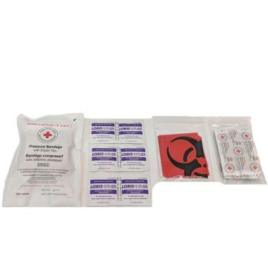 BRITISH COLUMBIA PERSONAL FIRST AID KIT REFILL