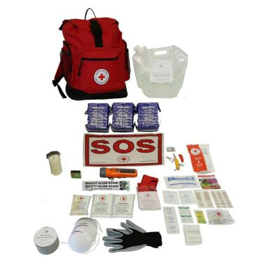 3 PERSON - CANADIAN RED CROSS BASIC DISASTER PREPAREDNESS KIT