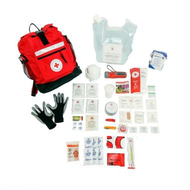 3 PERSON - BASIC DISASTER PREPAREDNESS KIT With water rations