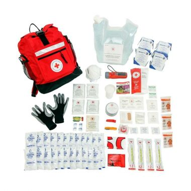 4 PERSON - DISASTER PREPAREDNESS KIT With Water Rations