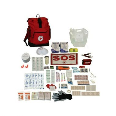2 PERSON - DELUXE DISASTER PREPAREDNESS KIT With Water Rations