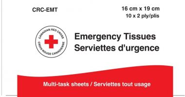 Canadian Red Cross-Emergency Tissues