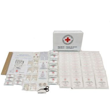 FEDERAL FIRST AID KIT TYPE B, PLASTIC BOX