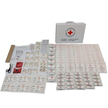 FEDERAL FIRST AID KIT TYPE C, METAL BOX