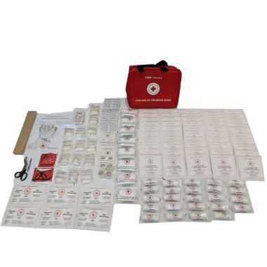 FEDERAL FIRST AID KIT TYPE C, PLASTIC BOX