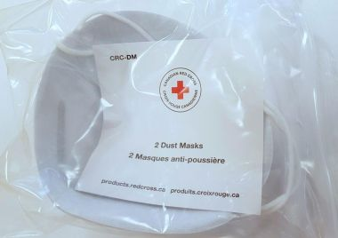 Canadian Red Cross-DUST MASK