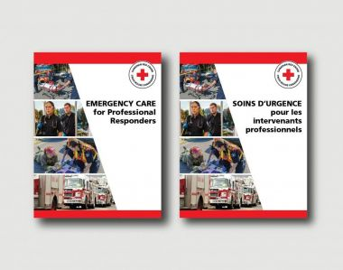 NEW EMERGENCY CARE FOR PROFESSIONAL RESPONDERS MANUAL (ENGLISH)