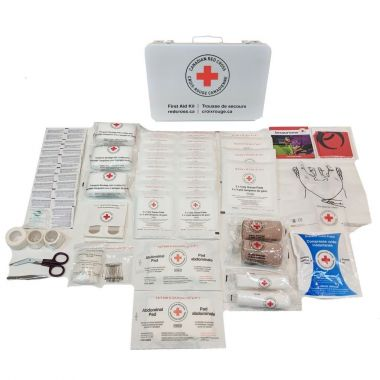 MANITOBA 25 WORKERS FIRST AID KIT IN METAL BOX