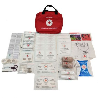 MANITOBA 25 WORKERS FIRST AID KIT IN NYLON BAG