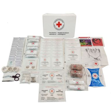 MANITOBA 25 WORKERS FIRST AID KIT IN PLASTIC BOX